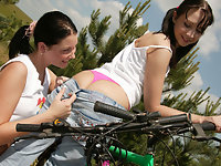 Outdoor lesbian games