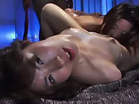 Innocent girls Waka and Yufu try to make out while tied up with saran wrap.  Their perverted mistress sees this and teaches them a lesson.  Find out just how twisted their mistress is in this sick and twisted Asian bondage film.