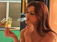 Sexy Smokers Strip Tease