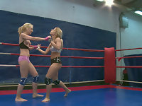 NudeFightClub presents Nataly Von vs Nikky Thorne