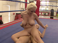 NudeFightClub presents Wivien vs. Jessica Moore