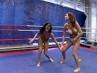 NudeFightClub presents Madison Parker vs. Janelle