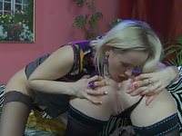 Ethel and Susanna anal lesbian video