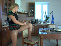 Gertrude in pantyhose movie