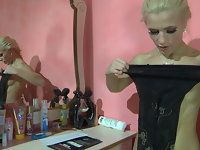Martha pantyhose tease movie