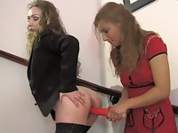 Leila and Sylvia live lesbian mature action