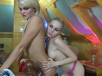 Dolly and Judith great lesbian action