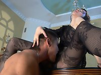 Helena and Govard perverted pantyhose sex video
