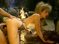 1980s porn video of savage barbarian sex