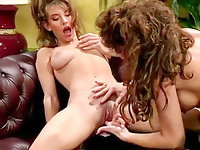 80s porn girls finger each others shaved pussies