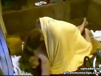 Girl gets rammed on the floor in hot private video