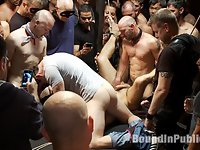 Live Shoot: Dirk Caber and 200 horny men at Folsom weekend party.