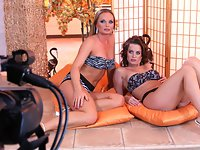 Silvia and Cindy Dollar - Pillows